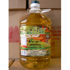 Afiat菜油 5 litrex4 vegetable oil