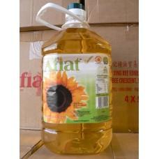 Afiat葵花籽油 5 litrex4 sunflower oil