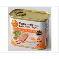 金桥午餐肉 340gx24 GB Pork Luncheon Meat