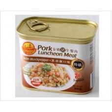 金桥午餐肉-黑椒 340gx24 GB Luncheon Meat-BP