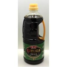 鲁花全黑豆酱油生抽( 1L*12)luhua soy sauce