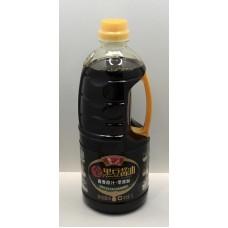 鲁花全黑豆酱油原汁( 1L*12)luhua soy sauce