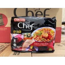 Mamee Chef Curry Laksa 80g x 4 x 8/ctn